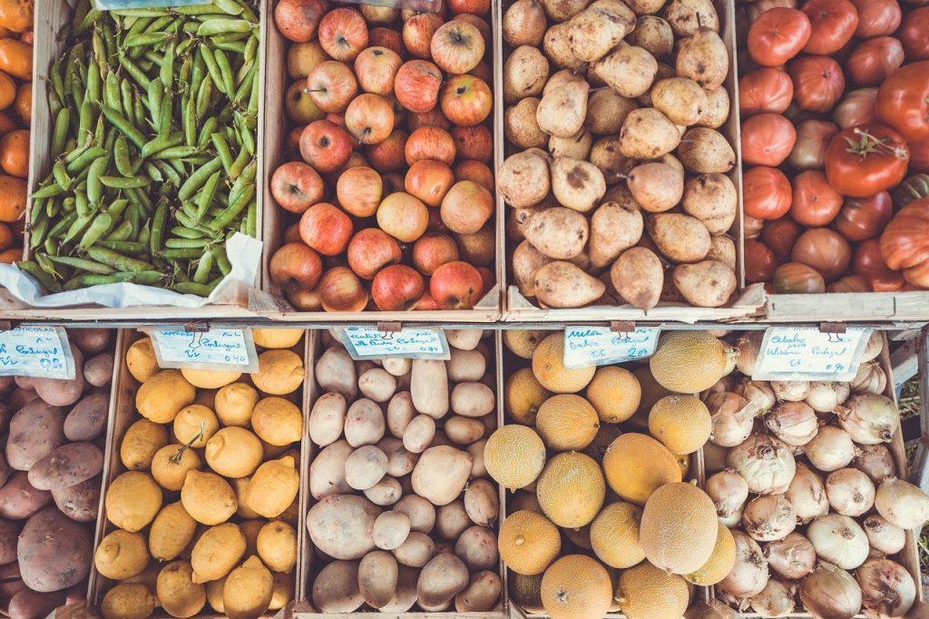 kauppa, terveellinen ruoka, ravitsemus, terapeutti