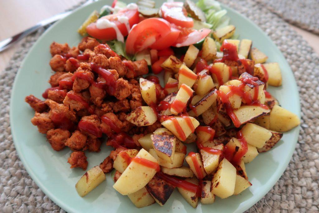 Soijapalat, kasvisruoka, vegeruoka, soija, kasviproteiini, lounas, terveellinen lounas